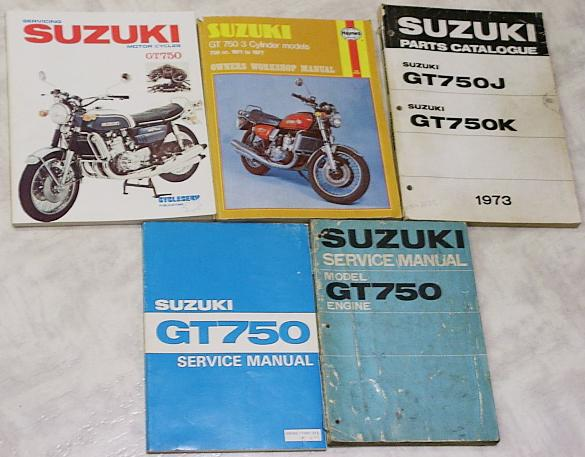 Suzuki 1972 GT750 Owners Manual GT750J